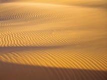 Linhas na areia Fotos de Stock Royalty Free