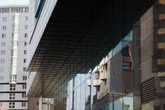 Linhas na arquitetura imagem de stock