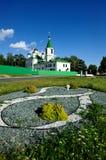 Linhas na arquitetura ortodoxo foto de stock