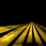 Linhas na estrada ilustração do vetor