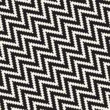 Linhas nervosas de intervalo mínimo textura à moda infinita do mosaico Teste padrão preto e branco sem emenda do vetor Fotografia de Stock Royalty Free