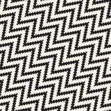 Linhas nervosas de intervalo mínimo textura à moda infinita do mosaico Vector o teste padrão sem emenda Fotografia de Stock Royalty Free