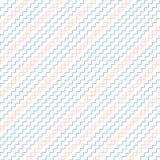 Linhas onduladas sem emenda diagonais Fotografia de Stock