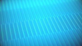 Linhas paralelas digitais azuis video estoque
