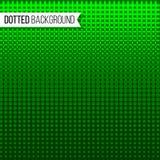 Linhas pontilhadas fundo Profundamente - ilustração verde do vetor Textura com projeto dos pontos Fotografia de Stock