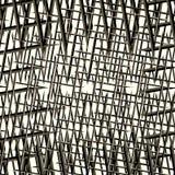 Linhas pretas e cinzentas em uma ilustração branca do fundo ilustração royalty free
