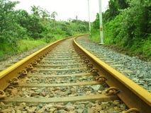 Linhas Railway Imagem de Stock