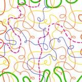 Linhas sem emenda fundo Imagens de Stock