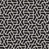 Linhas sem emenda teste padrão do vetor de mosaico Textura abstrata à moda moderna Repetindo telhas geométricas ilustração stock