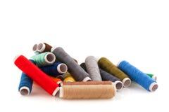 Linhas Sewing Imagens de Stock