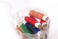 Linhas Sewing Foto de Stock