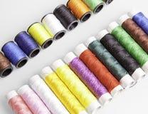 Linhas Sewing Imagens de Stock Royalty Free