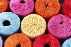Linhas Sewing Fotografia de Stock