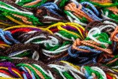 Linhas Tangled Imagens de Stock