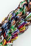 Linhas Tangled Fotografia de Stock