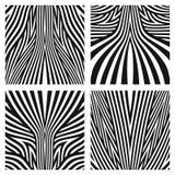 Linhas testes padrões e texturas listradas Fotos de Stock