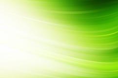 Linhas Verdes abstratas fundo Fotografia de Stock Royalty Free