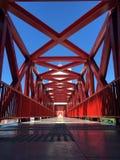 Linhas vermelhas Fotografia de Stock