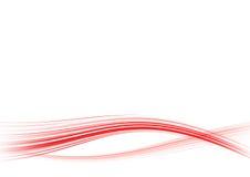 Linhas vermelhas Imagem de Stock Royalty Free
