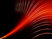 Linhas vermelhas abstratas ilustração do vetor