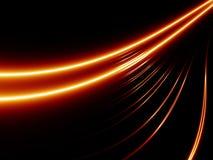 Linhas vermelhas abstratas Ilustração Royalty Free