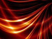 Linhas vermelhas abstratas Imagem de Stock