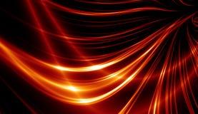 Linhas vermelhas abstratas Ilustração Stock