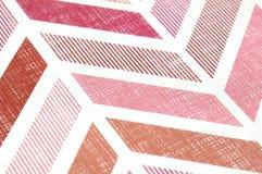 Linhas vermelhas do teste padrão Imagens de Stock Royalty Free