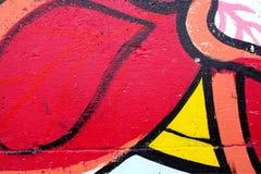 Linhas vermelhas e pretas Imagens de Stock Royalty Free