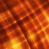 Linhas vermelhas vívidas e curva do fundo abstrato Imagens de Stock