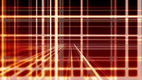 Linhas vermelhas verticais e horizontais digitais abstratas fundo, laço sem emenda pronto ilustração royalty free