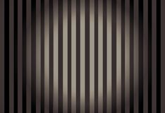 Linhas verticais com círculo Center de incandescência Imagens de Stock Royalty Free