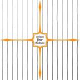 Linhas verticais de espessura diferente Fotos de Stock Royalty Free