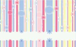 Linhas verticais doces Imagens de Stock