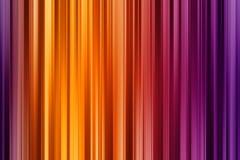Linhas verticais violetas, alaranjadas e amarelas, fundo abstrato brilhante ilustração do vetor