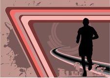 Linhas vetor do esporte do projeto Fotografia de Stock