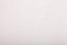 Linho branco grosseiro Imagens de Stock Royalty Free