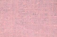 Linho cor-de-rosa Fotografia de Stock Royalty Free