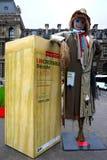 Linho na cidade Imagem de Stock Royalty Free