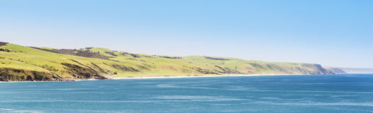 linia brzegowa australijska Zdjęcia Royalty Free