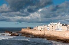 Linia brzegowa Essaouira, Maroko Zdjęcie Royalty Free