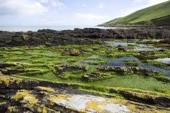 linia brzegowa irlandii północnej niewygładzony obrazy stock