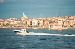 linia brzegowa Istanbul Zdjęcia Royalty Free