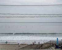 Linia brzegowa Kamakura, Japonia Obraz Royalty Free