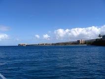 linia brzegowa Kapalua Zdjęcia Royalty Free