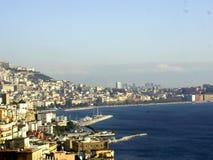 linia brzegowa Neapolu fotografia stock