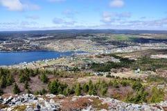linia brzegowa Newfoundland zdjęcie royalty free