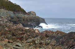 linia brzegowa Newfoundland zdjęcia royalty free