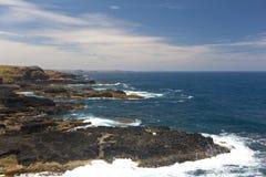 Linia brzegowa Nobbies w Philip wyspie obraz stock