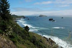 linia brzegowa Oregon Obraz Stock